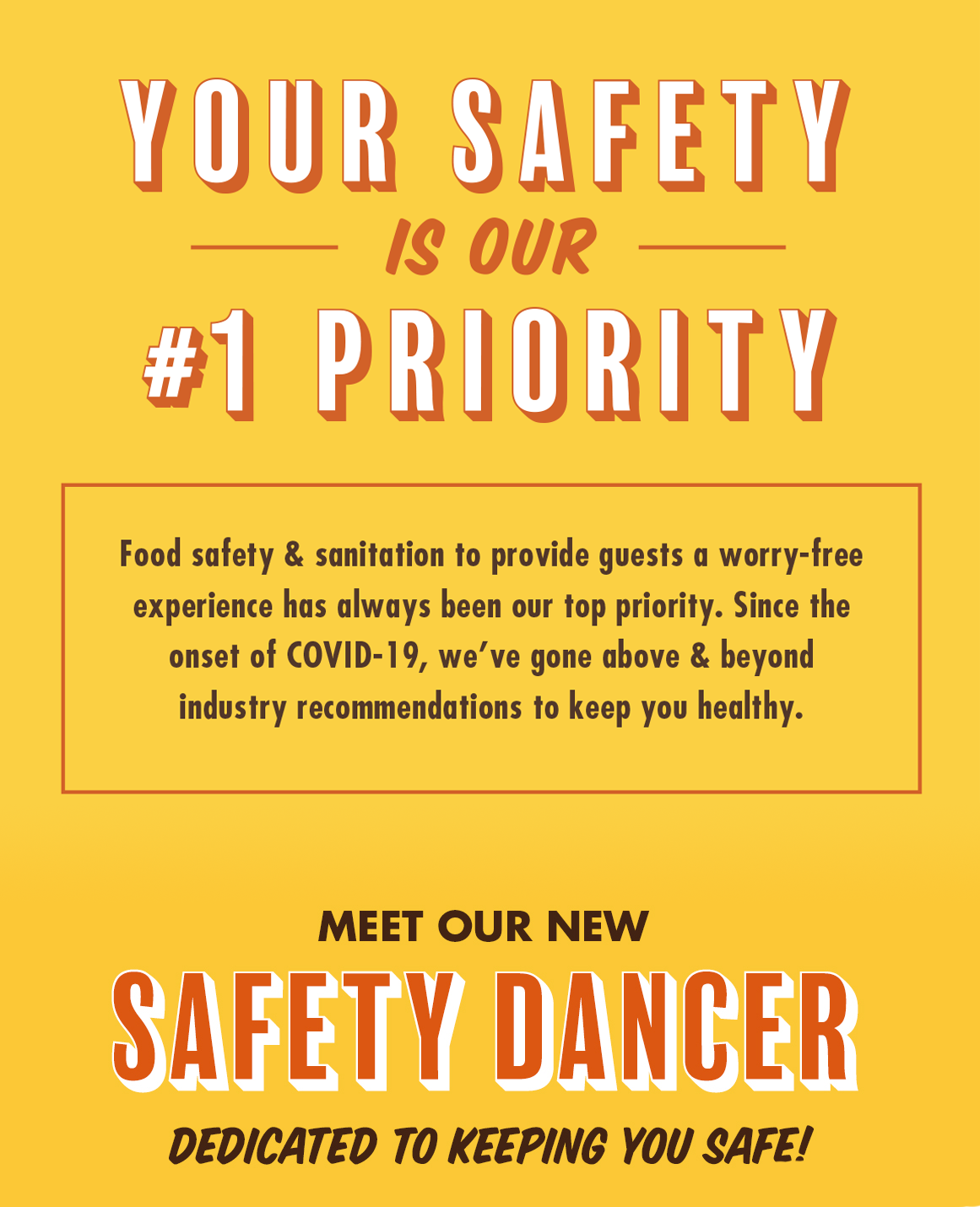 Your Safety Is Our #1 Priority